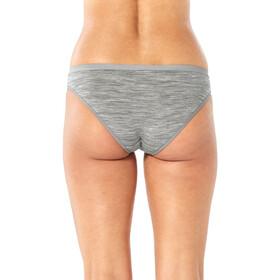 Icebreaker Siren Slip de bikini Mujer, gris